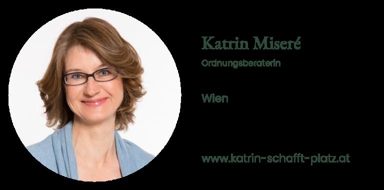 Katrin Miseré - Ordnungsberaterin Wien