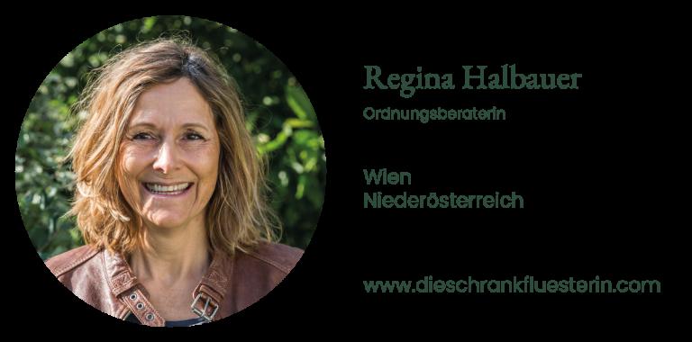 Regina Halbauer - Ordnungsberaterin Wien und Niederösterreich