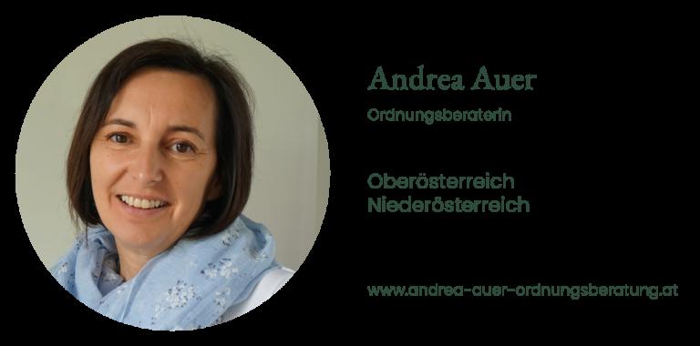Andrea Auer - Ordnungsberaterin