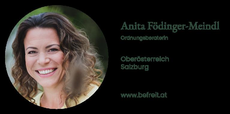 Anita Födinger-Meindl - Ordnungsberaterin | Oberösterreich und Salzburg